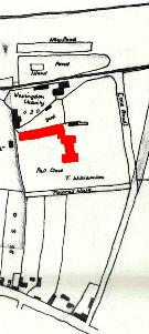 The old Crawley Manor house in 1760 [R1-42]